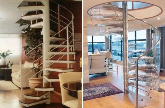 483388 Escada caracol modelos e fotos 14 Escada caracol: modelos e fotos