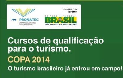 483425 Curso gratuito de espanhol pronatec copa 2014 1 Curso gratuito de sushiman Pronatec copa 2014