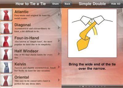 483473 app para dar no em gravata 1 App para dar nó em gravata