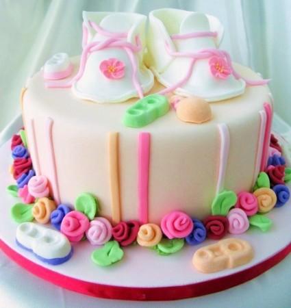 483782 Fotos de bolos para ch%C3%A1 de beb%C3%AA 19 Fotos de bolos para chá de bebê