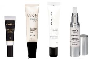 Produtos para pré-maquiagem: dicas