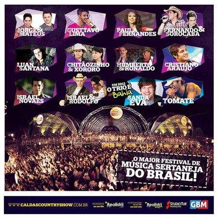 484625 Pacotes Caldas Country Show 2012 1 Pacotes Caldas Country Show 2012