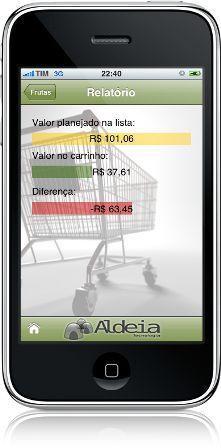 484652 iList Touch Aplicativos para ajudar nas compras do supermercado