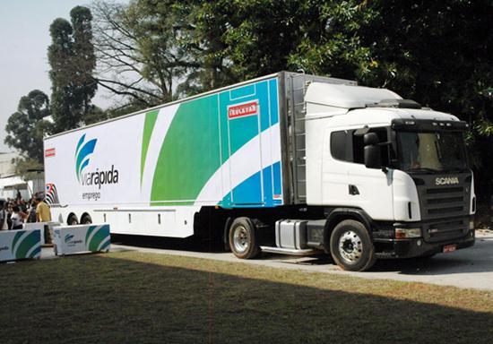 485089 via rapida caminhao Curso gratuito de assistente de logística 2012 – Via rápida