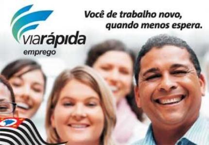 485353 O via rápida empregos é um programa do governo do Estado de São Paulo que oferece cursos de capacitaçaõ a população Curso gratuito de Almoxarife e estoquista 2012 – Via rápida