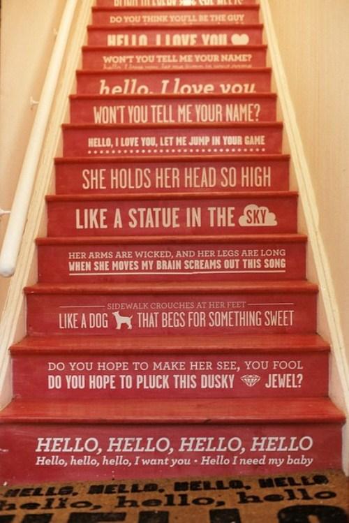 485823 Decoração criativa para a escada ideias8 Decoração criativa para a escada: ideias