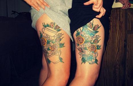 486031 Partes do corpo que menos dói fazer tatuagem.5 Partes do corpo que menos dói fazer tatuagem