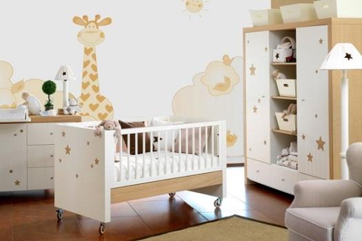 486111 Quarto de bebê unissex dicas fotos 4 Quarto de bebê unissex: dicas, fotos