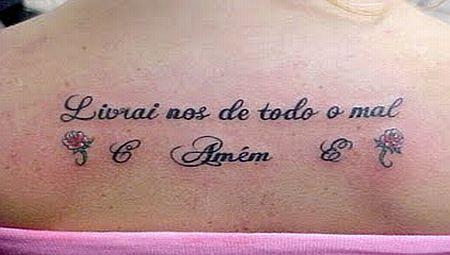 486866 Tatuagens escritas 01 Tatuagens escritas: fotos