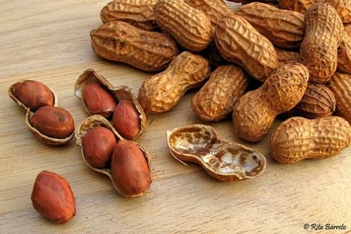 487242 O amendoim é rico em vitamina B3 Alimentos que ajudam no tratamento das varizes