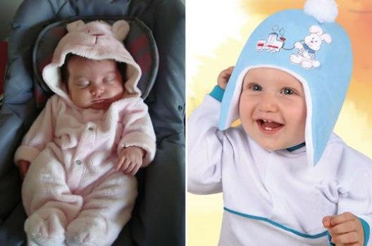 487739 Roupas de inverno para bebês Roupas de frio para bebês