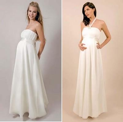487759 Vestido de noiva para gr%C3%A1vidas 01 Vestido de noiva para grávidas: fotos