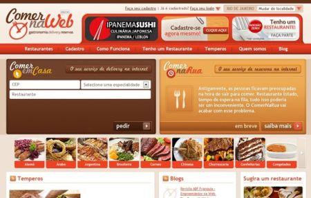 487884 comer na web pedido delivery pela internet 1 Comer na web, pedido delivery pela internet