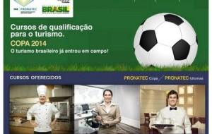 Pronatec Copa, Cursos gratuitos, SE – 2012