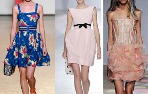 Vestidos de festa com corselet