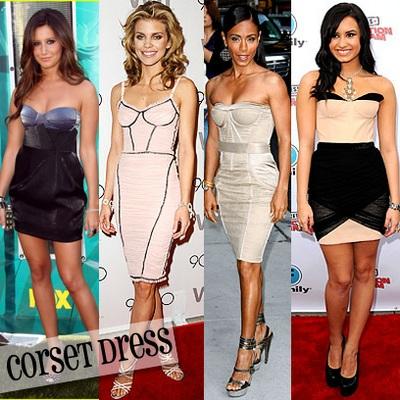 488747 corselete Vestidos de festa com corselet
