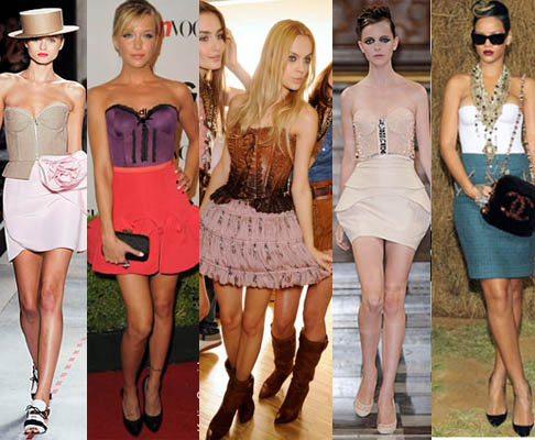 488747 corset saia1 Vestidos de festa com corselet