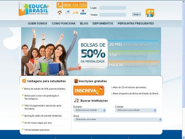489170 Educa Mais Brasil bolsas de estudo 2012 2 Educa mais Brasil, bolsas de estudo 2012
