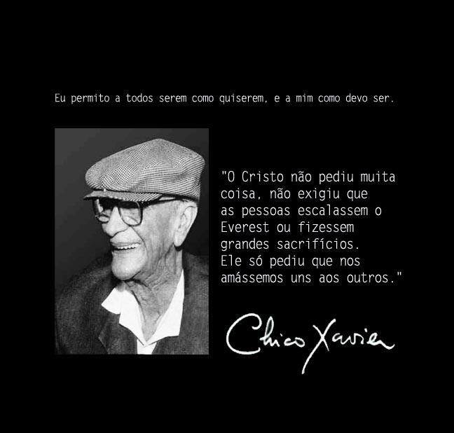 Blogaurimartini Chico Xavier