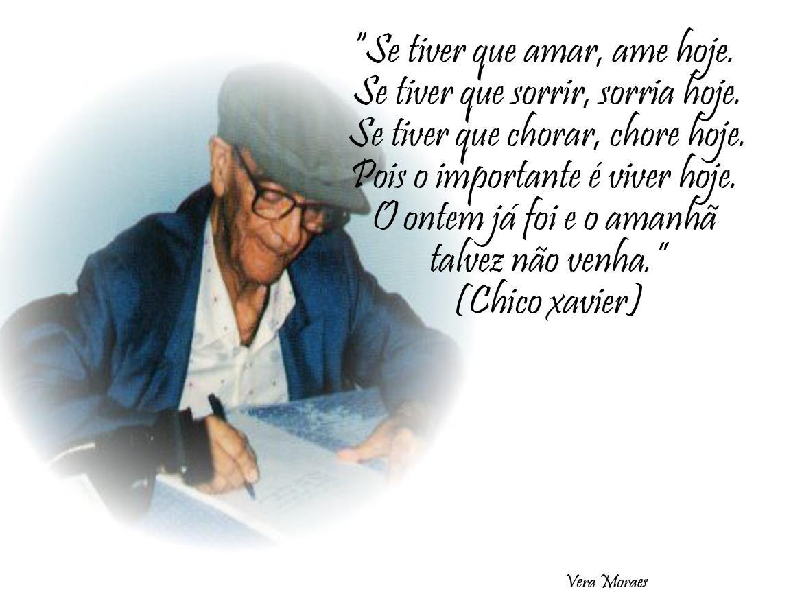 MENSAGENS DE CHICO XAVIER PARA FACEBOOK