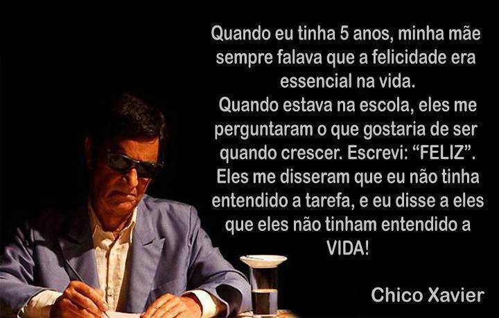 Mensagens De Chico Xavier Para Facebook: Com Deus E A Verdade: Lindas Palavras Para Reflexão. Bom Dia