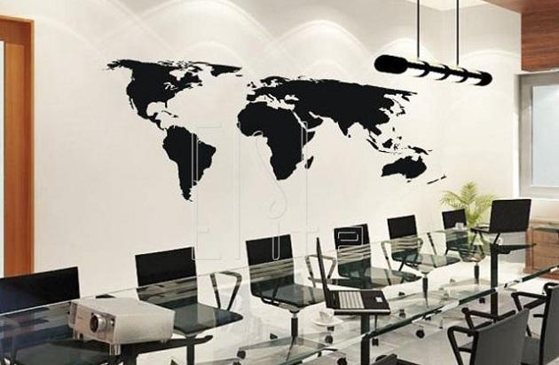 489755 ad04 Adesivo de parede para escritório: dicas, sugestões