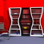489842 Estantes criativas para livros 13 150x150 Estantes criativas para livros: fotos