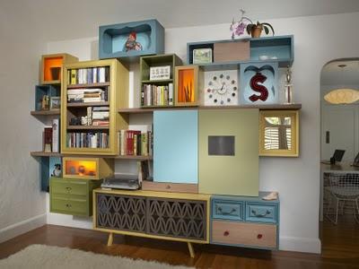 489842 Estantes criativas para livros 25 Estantes criativas para livros: fotos