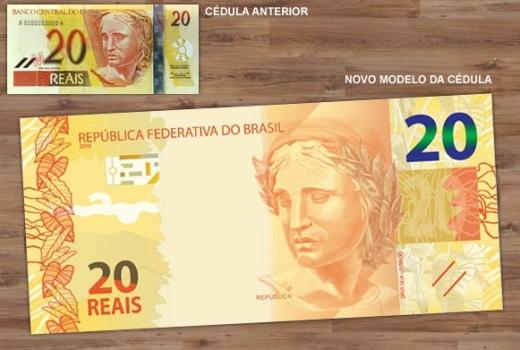 490698 Conheça as novas cédulas de 10 e 20 reais 2 Conheça as novas cédulas de 10 e 20 reais