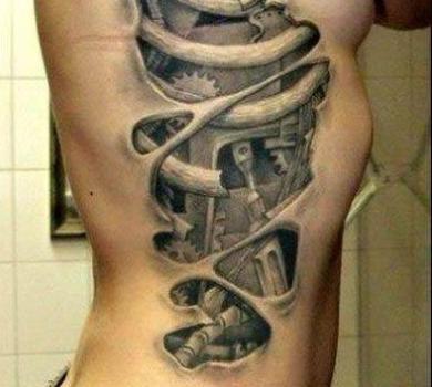 491044 Tatuagem feminina 3d 11 Tatuagem feminina 3D
