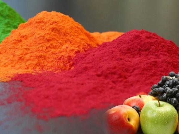 491927 As farinhas são coloridas e altamente nutritivas. Farinha de frutas: benefícios para a saúde, como consumir