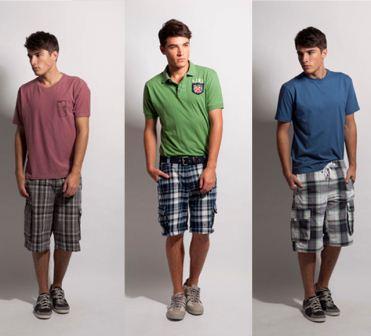 492954 As bermudas xadrez são otimas para serem combinadas com as camisas pólo Moda masculina: dicas para usar camisa polo