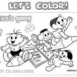 493010 Turma da Mônica colorir 2 150x150 Volta às aulas desenhos da turma da Mônica para colorir