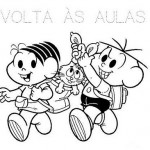 493010 Turma da Mônica colorir 6 150x150 Volta às aulas desenhos da turma da Mônica para colorir