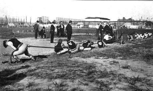 493612 O cabo de guerra era uma das modalidades nas olimpiadas há muitos anos atrás Curiosidades sobre as Olimpíadas