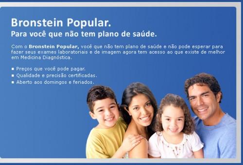 493624 O bronstein possui mais de 30 unidade no Rio de Janeiro Bronstein Popular: exames mais baratos, Rio de Janeiro