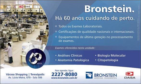 493624 o bronstein popular oferece exames por preços mais acessíveis que os normais Bronstein Popular: exames mais baratos, Rio de Janeiro
