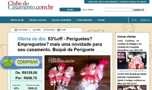 494042 Clube do casamento compras coletivas Clube do Casamento: compras coletivas