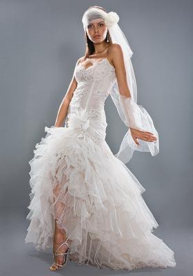 494208 Vestido de noiva moderno 13 Vestido de noiva moderno: fotos