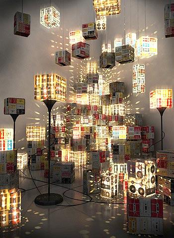 494465 Lumin%C3%A1rias criativas 16 Luminárias criativas: fotos