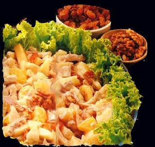 494813 salada batata frango 1 Salada de batata com frango