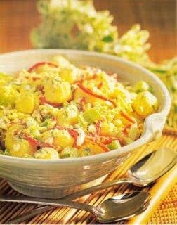 494813 salada batata frango Salada de batata com frango