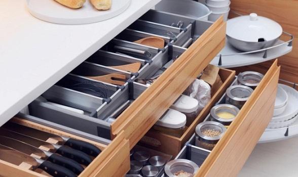 Fotos de divis rias internas de arm rio de cozinha planejado - Botes almacenaje cocina ...