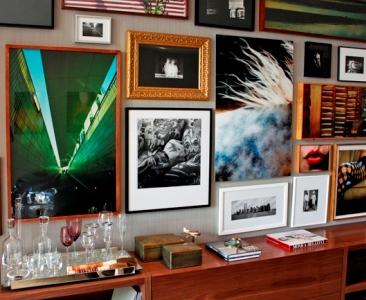 495418 Quadros e fotos na decoração dicas fotos.2 Quadros e fotos na decoração: dicas, fotos