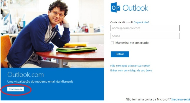 496531 Outlook login como entrar no outlook da Microsoft Outlook login, como entrar no Outlook da Microsoft