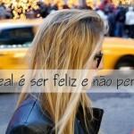 496666 O ideal é ser feliz e não perfeito. 150x150 Mensagens sobre atitude para facebook