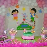 496680 Dora 150x150 Aniversário de meninas: dicas de decoração, fotos