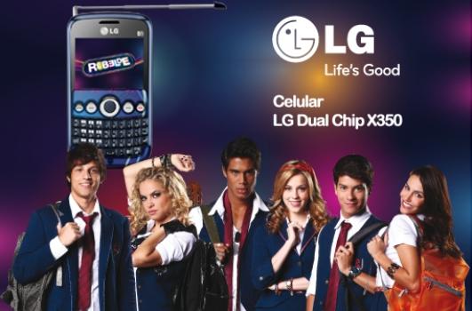 496858 www.falarebelde.com .br Celular do Rebelde Modelo LG Dual Chip X350 2 www.falarebelde.com.br Celular do Rebelde, Modelo LG Dual Chip X350