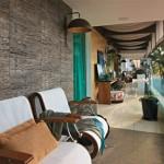 497303 O uso de fibras no revestimento de paredes é uma boa opção. 150x150 Fibras naturais na decoração: dicas, fotos