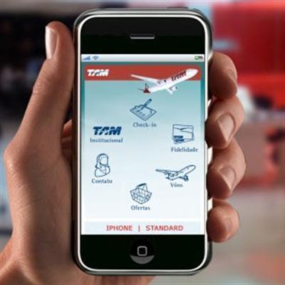 497515 Check in por celular TAM Check in por celular TAM